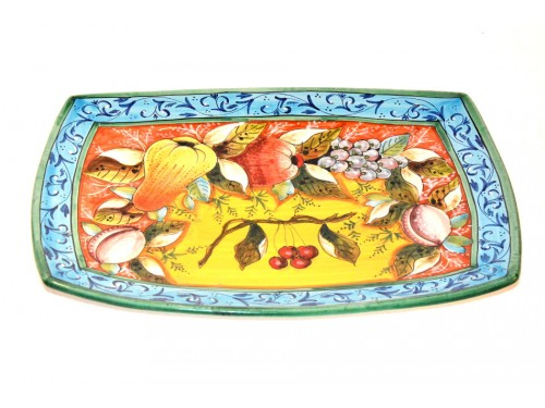Rectangular Plate fruits 9,85 x 13,75 inches (last piece)