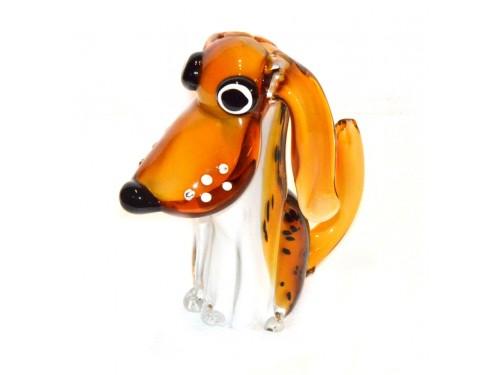 Murano Glass dog 7,85 inches (last piece)