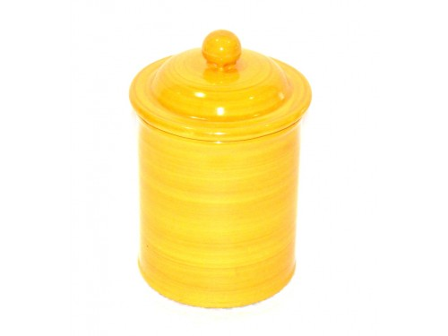 Canister yellow 5,90 inches