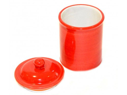 Canister red 5,90 inches