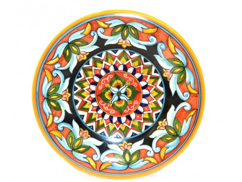 Wall Plate geometric 13,75 inches