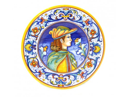 Wall Plate Elegant Man 7,85 inches