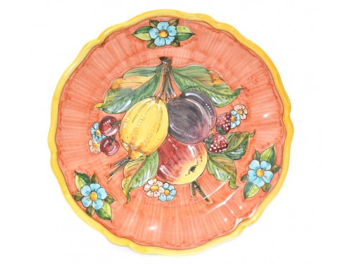 Wall Plate Fruits Pink 12,60 inches