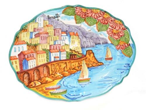 Oval Plate Amalfi 14,95 inches