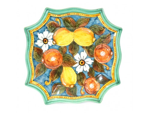 Special Squared Plate Fruits 11,80 inches