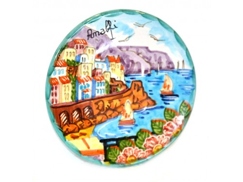 Round Plate Amalfi 4,70 inches