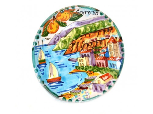 Round Plate Sorrento 4,70 inches