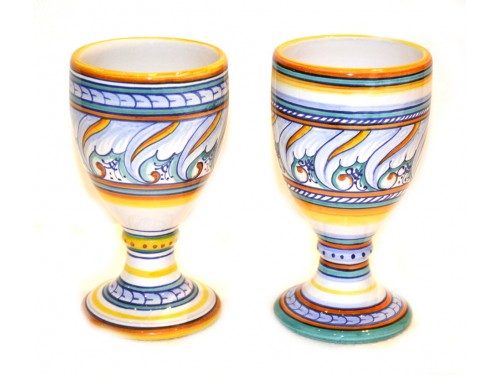 1 set of 2 Goblets Classic Design 5,90 inches (last set)