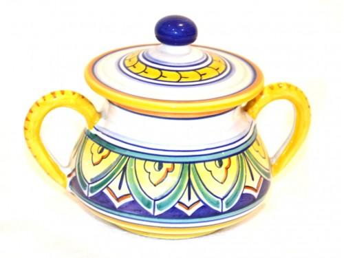 sugar bowl geometric (1 of a kind) 4,70 inches