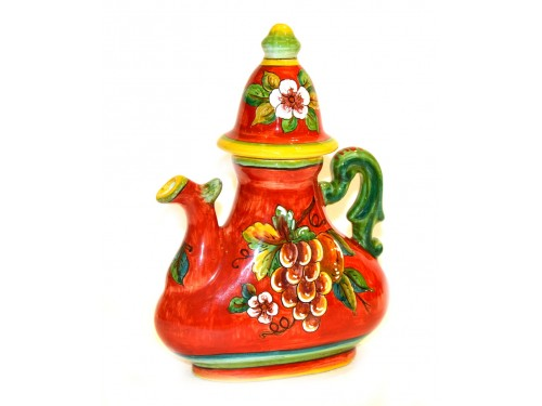 Coffee Pot Red Fruits 11 inch (1 piece in stock)