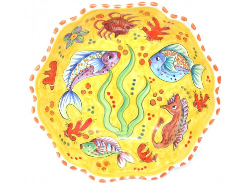 Round Sim Bowl Fishes