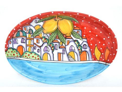 Oval Plate Houses