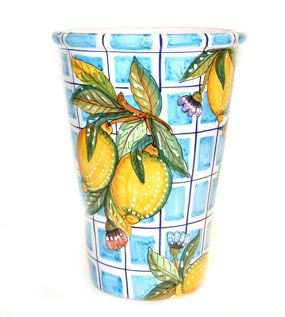 vase-ice-bucket-lemon-light-blue-squares